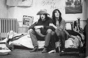 patti smith & sam shepard performing 'cowboy mouth' 1971